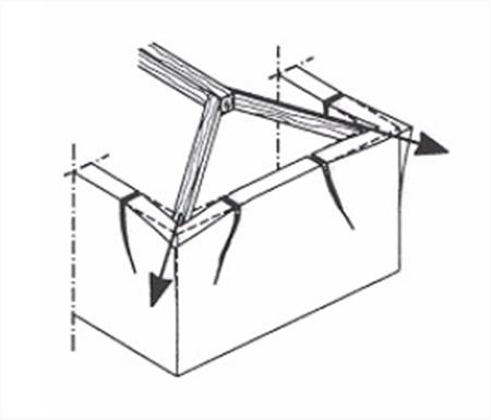 Lavori pubblici informazione tecnica online for Inquadratura del tetto del padiglione