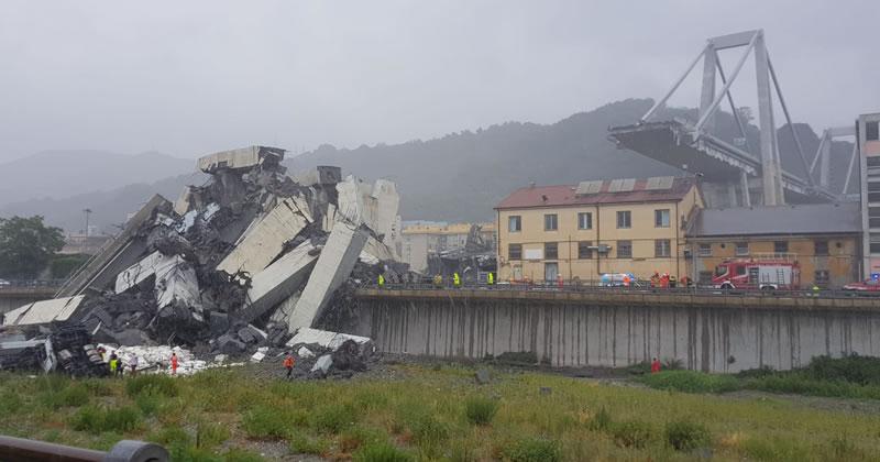 Crollo Ponte Morandi: segnalazione danni entro l'1 ottobre 2018