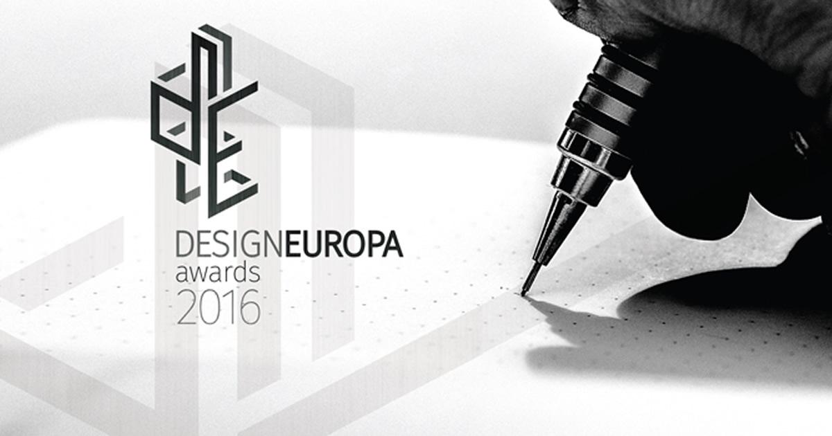 Premi europei del Design, aperto il concorso DesignEuropa Awards