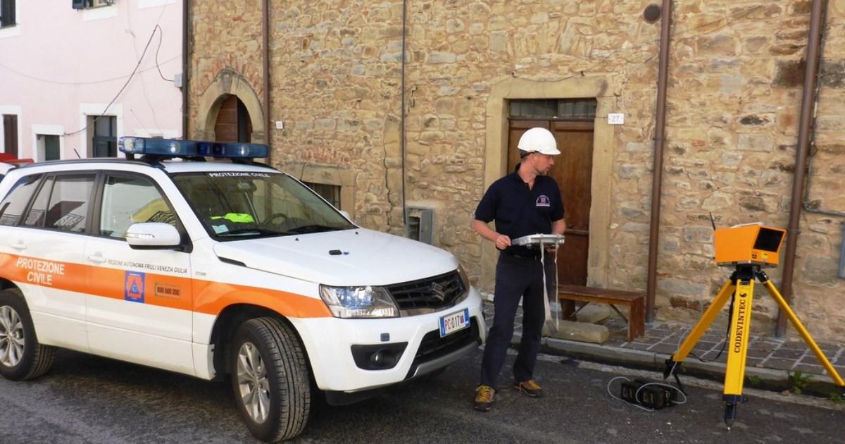 Terremoto centro-Italia: Procedura veloce per valutare l'agibilità dei edifici