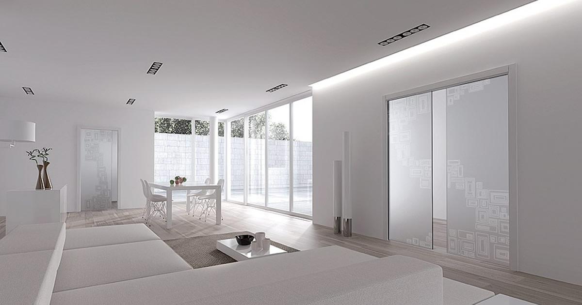 Scegliere una porta a scomparsa in vetro: i controtelai, i modelli e ...