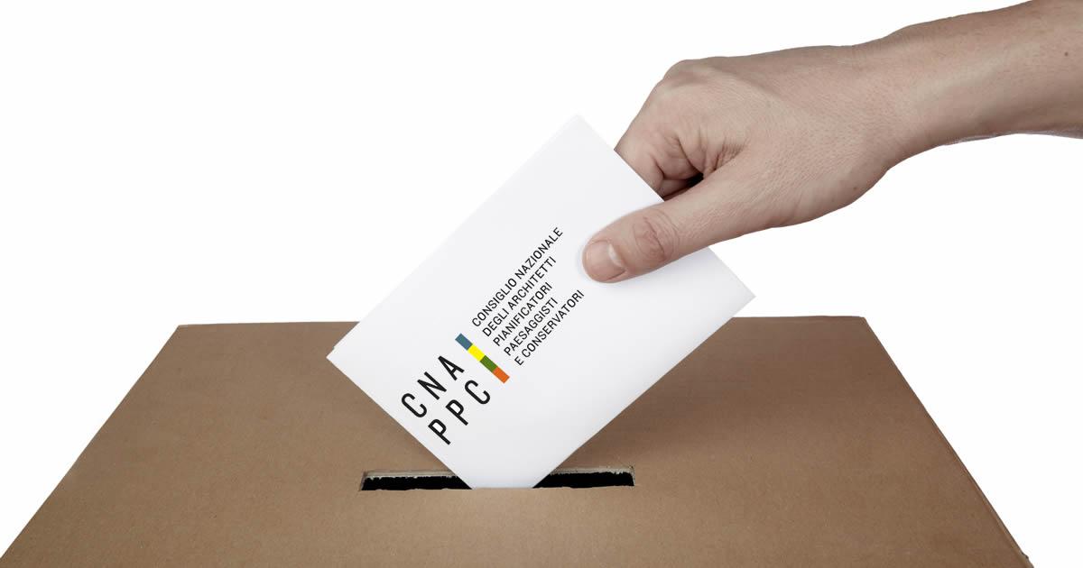 Rinnovo CNAPPC: elezioni aperte a tutti gli Architetti italiani