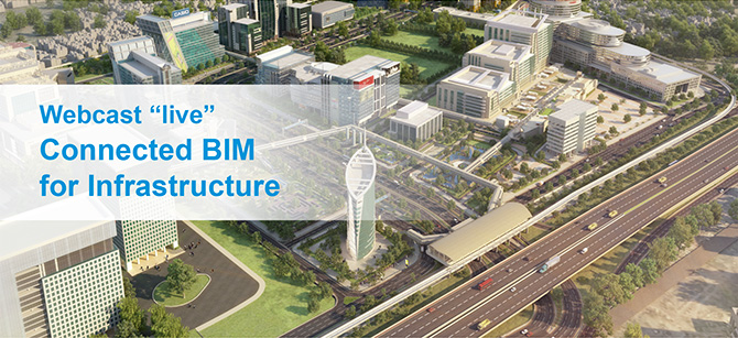 Webcast live - Commected BIM for Infrastructure