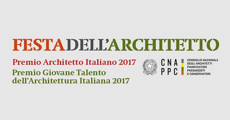 """Al MAXXI la consegna dei premi """"Architetto dell'anno 2017"""" e """"Giovane Talento dell'Architettura italiana 2017"""""""