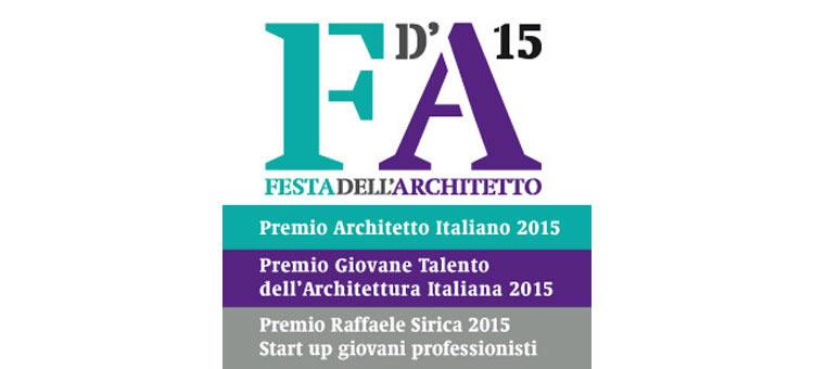 Festa dell'Architetto: confermata la scadenza per il 15 ottobre 2015