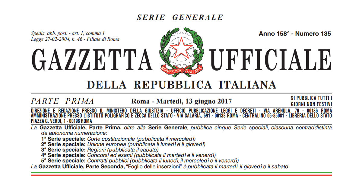 Jobs Act Autonomi: in Gazzetta la Legge n. 81/2017