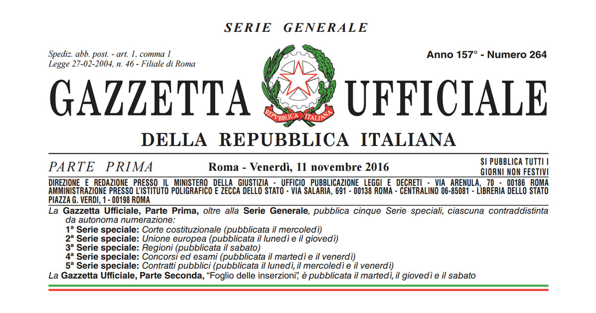 Terremoto centro-Italia: le disposizioni del Decreto-Legge n.205/2016