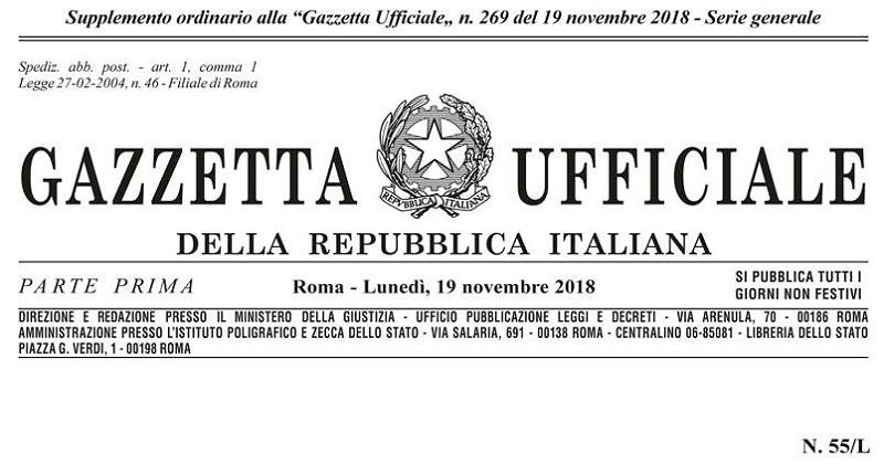 Decreto Genova: Pubblicata sulla Gazzetta la legge di conversione