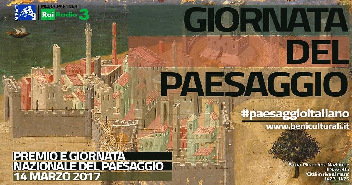 Giornata nazionale del paesaggio: Prima edizione il 14 marzo