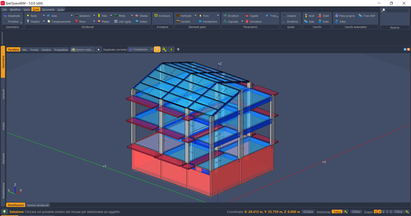 IperSpace BIM vs Straus7: software di calcolo strutturale a confronto
