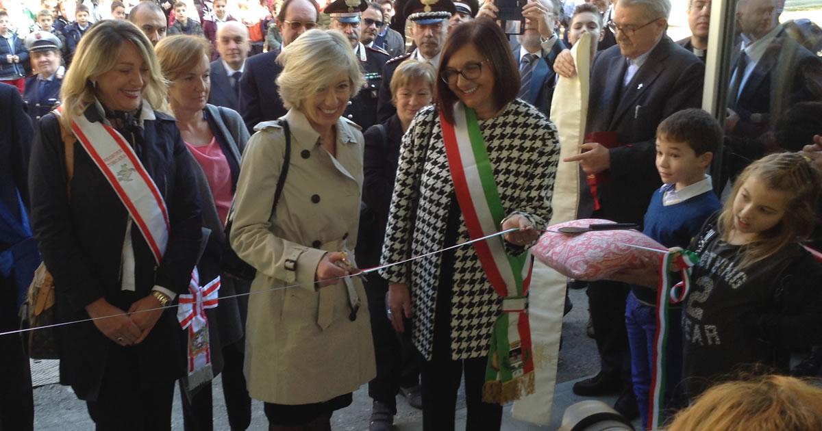 Toscana, inaugurata palestra antisismica