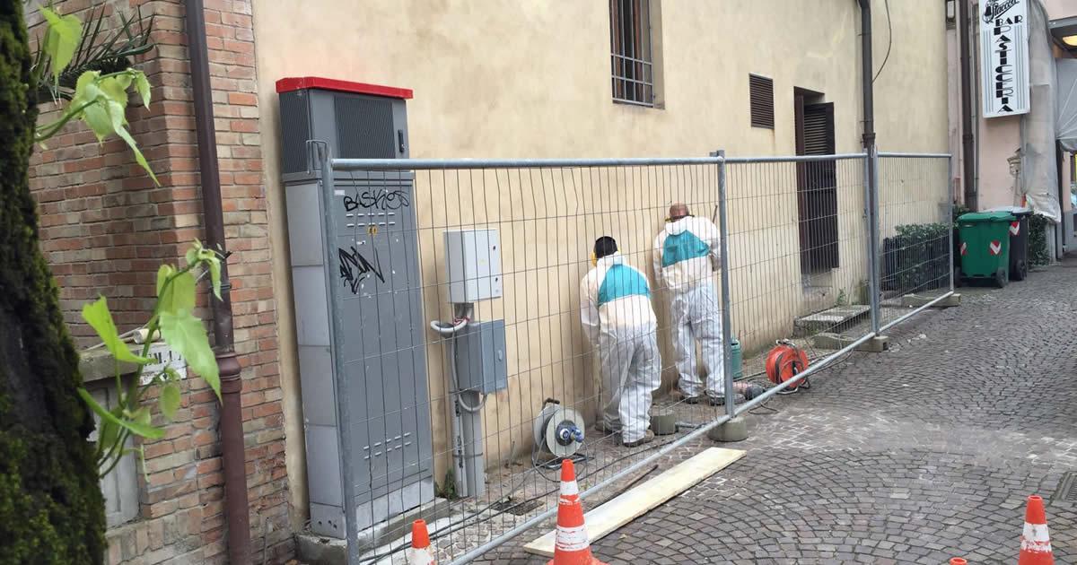Consolidamento di un edificio storico con iniezione di resine espandenti
