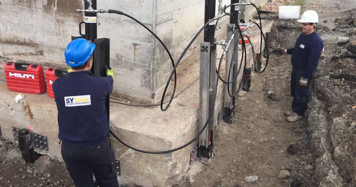 Le soluzioni meno invasive per consolidare le fondazioni e risolvere il problema delle crepe nei muri causate da cedimenti