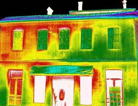 Analisi ponti termici: termografia