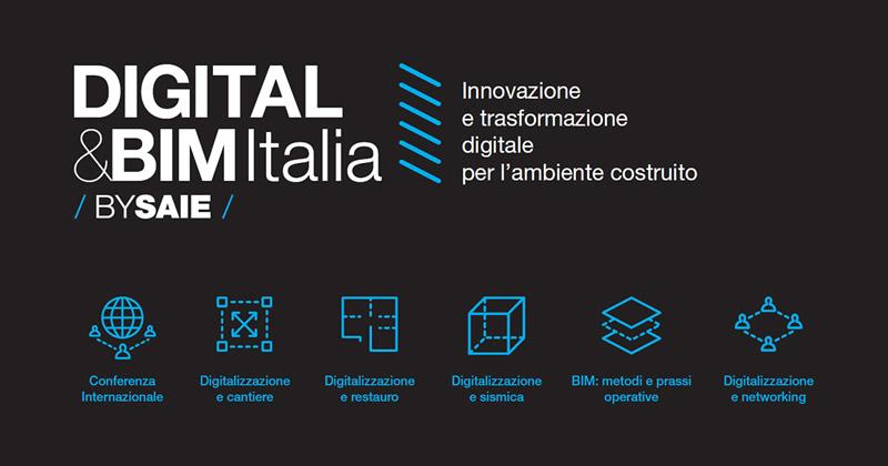 DIGITAL&BIM ITALIA a Bologna dal 19 al 20 ottobre 2017