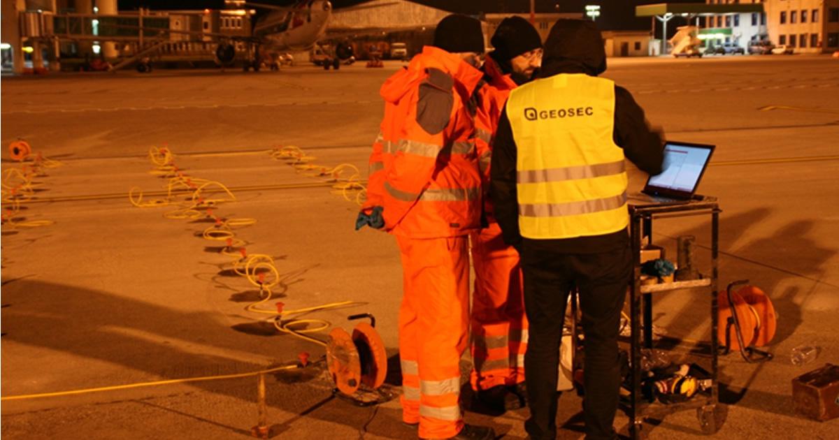 Riqualifica strutturale pavimentazione piazzale di sosta aeromobili