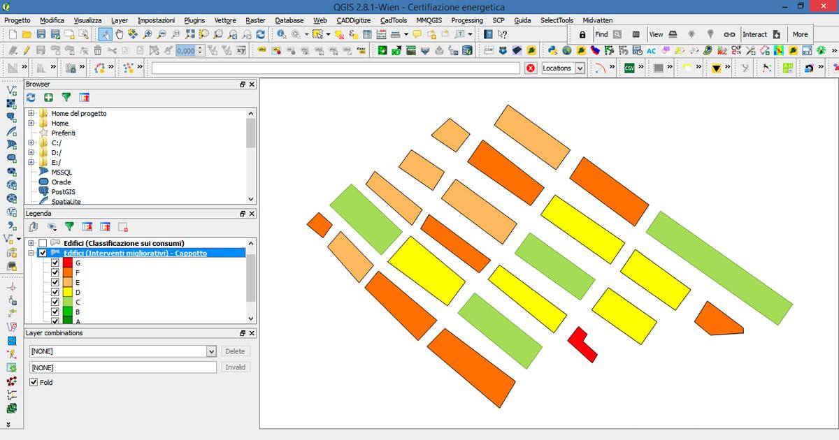 Valutazione delle prestazioni energetiche degli edifici con i software GIS