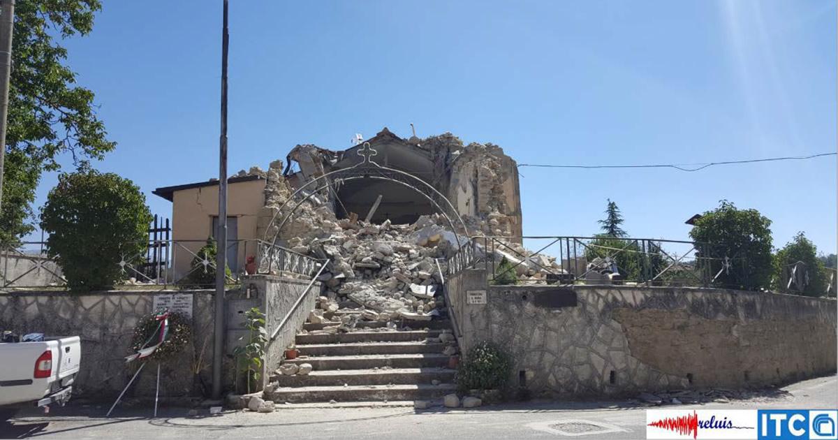 Terremoto centro-Italia: dal Consorzio ReLUIS il Report sui danni