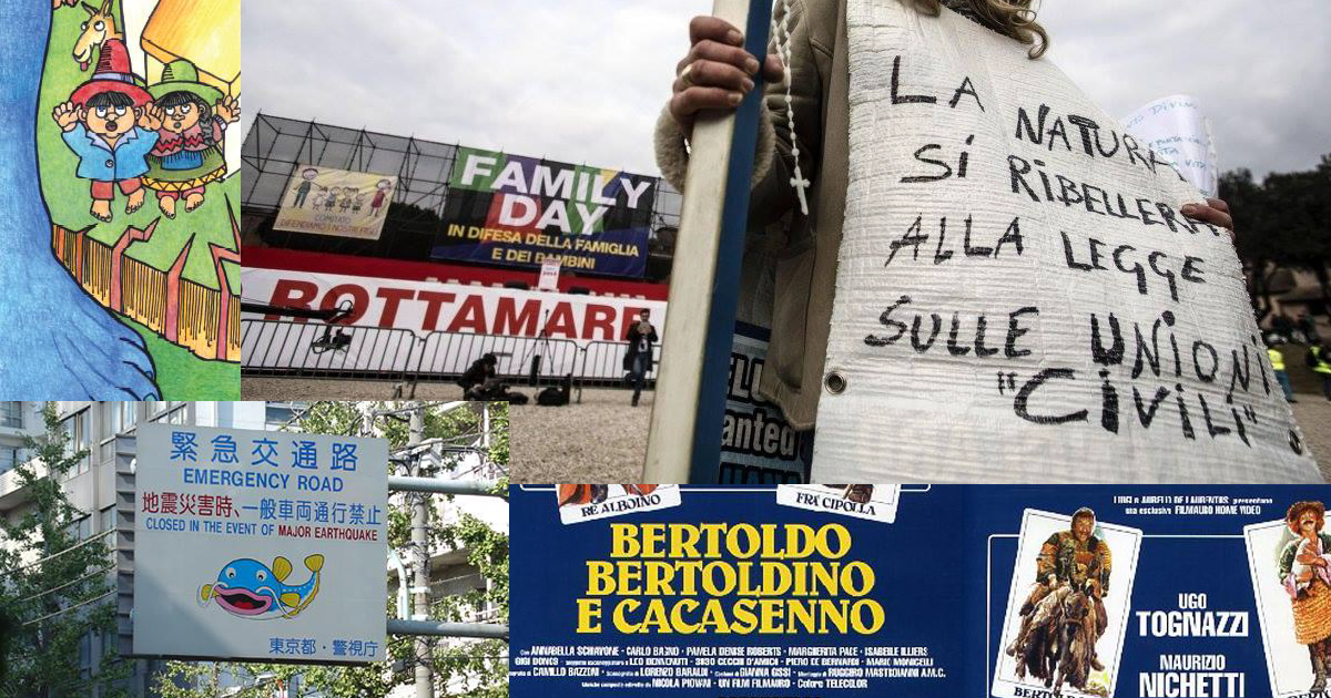 Miti, leggende e terremoti: quando un paese illuminista ritorna al medioevo
