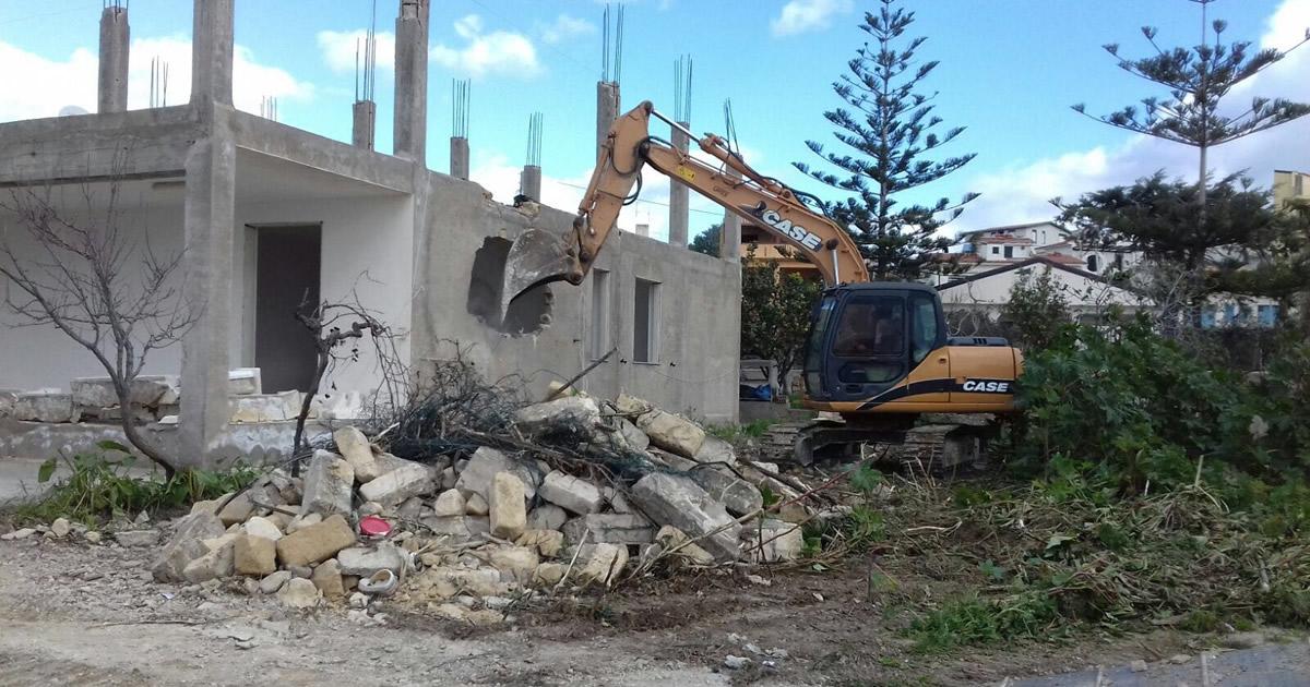 Abusivismo edilizio: 17 mila nuovi immobili abusivi nel 2016