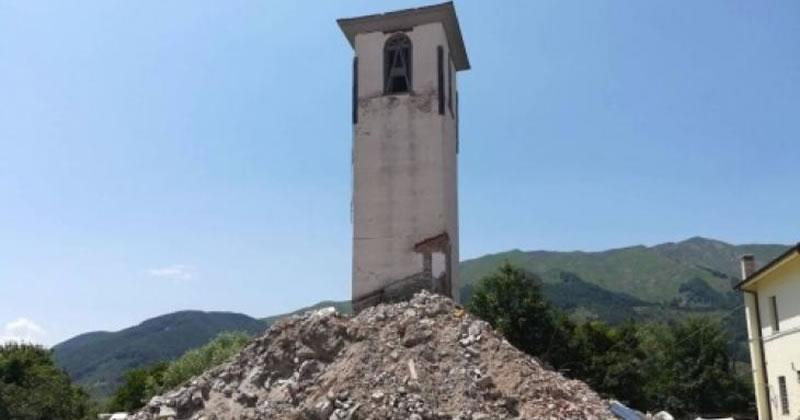 Terremoto centro Italia: autorizzato impianto per trattamento macerie a Capitignano