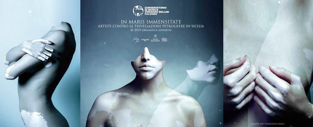 Artisti contro le trivellazioni petrolifere in Sicilia