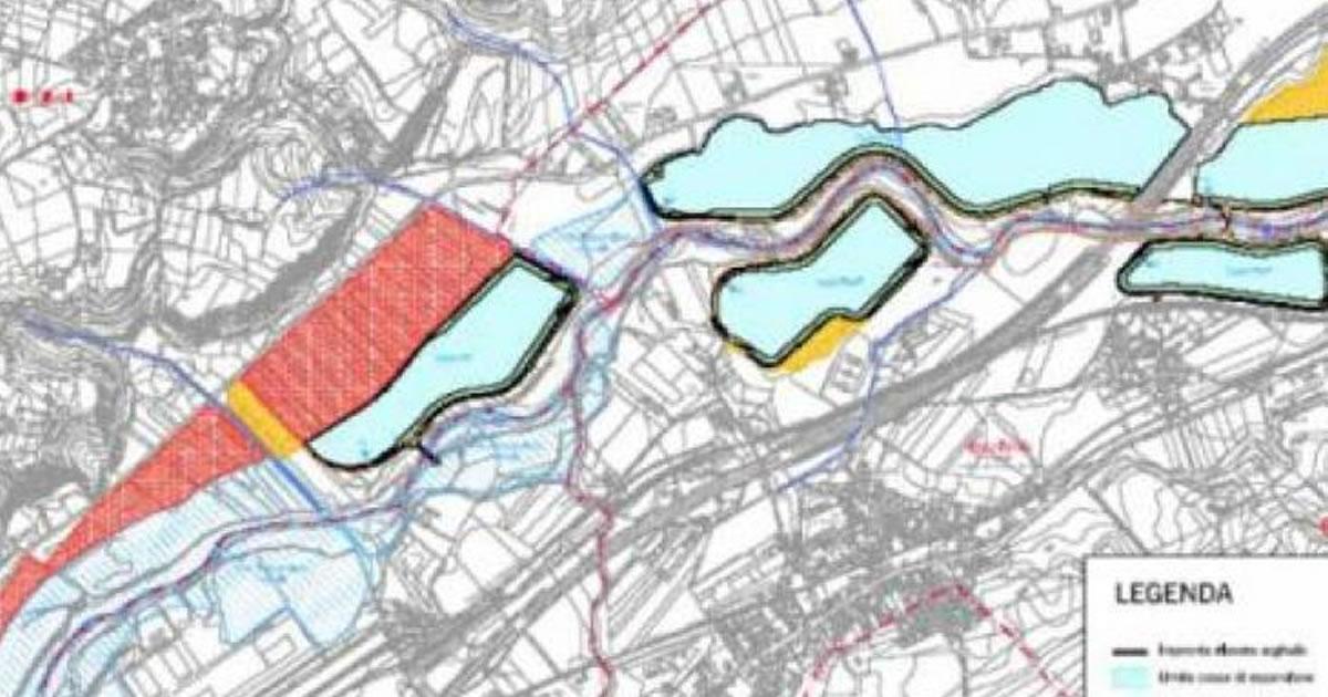 Fiume Pescara: entro settembre gara d'appalto per le vasche di laminazione