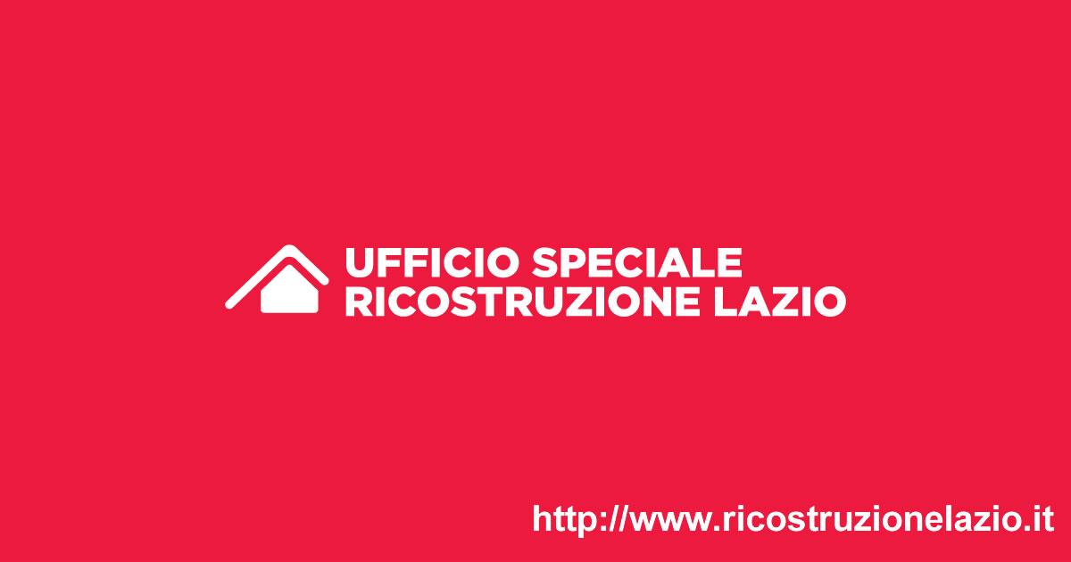 Regione Lazio e Terremoto: online il sito dedicato alla ricostruzione