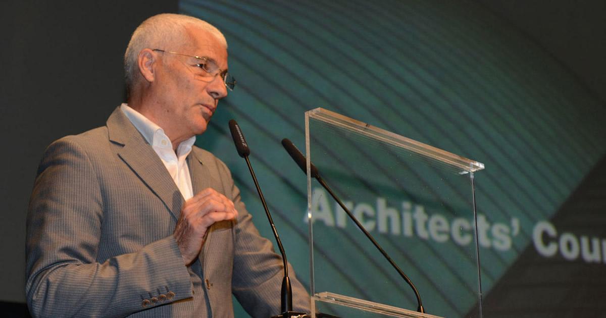 Architetti Europei, Luciano Lazzari confermato alla Presidenza
