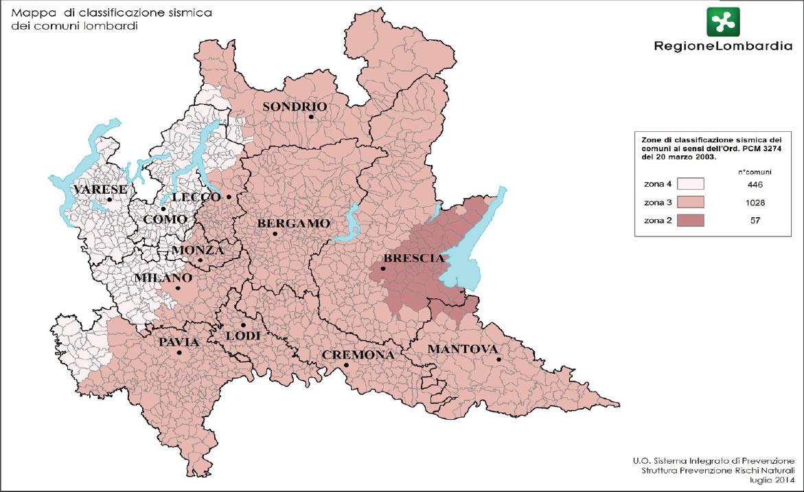 Sisma, Lombardia: firmate 3 ordinanze per aziende agricole,servizi e commercio