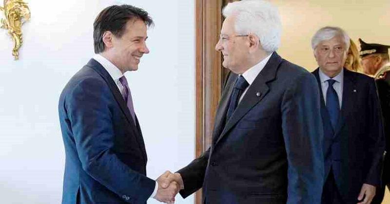 Dl terremoto: I rilievi del Presidente Sergio Mattarella al Premier Giuseppe Conte