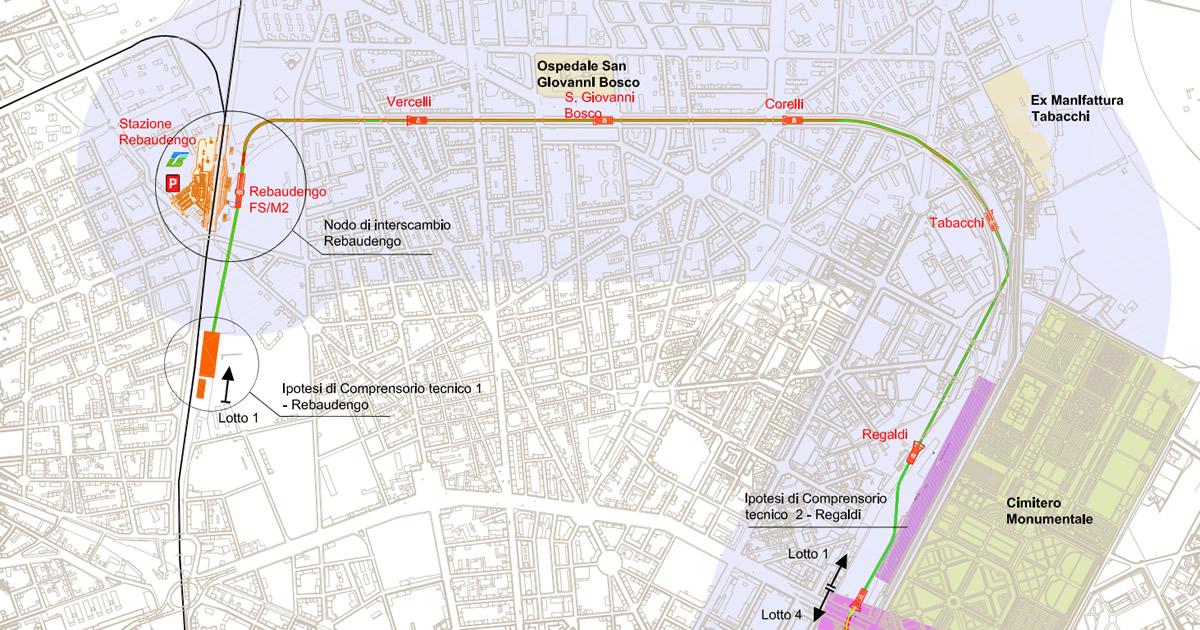 Maxi bando per la progettazione preliminare della metropolitana di Torino