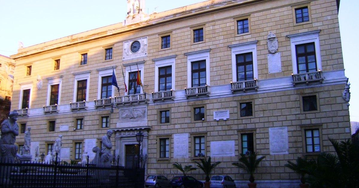 Palermo: Bando da 8,1 milioni per la riorganizzazione funzionale di Palazzo delle Aquile
