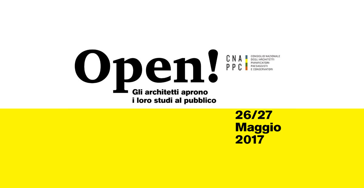 Open, Studi Aperti: 601 Studi di architettura aperti contemporaneamente ai cittadini