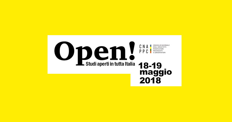 Open Studi Aperti: sono già oltre 700 gli studi di architettura che vi parteciperanno