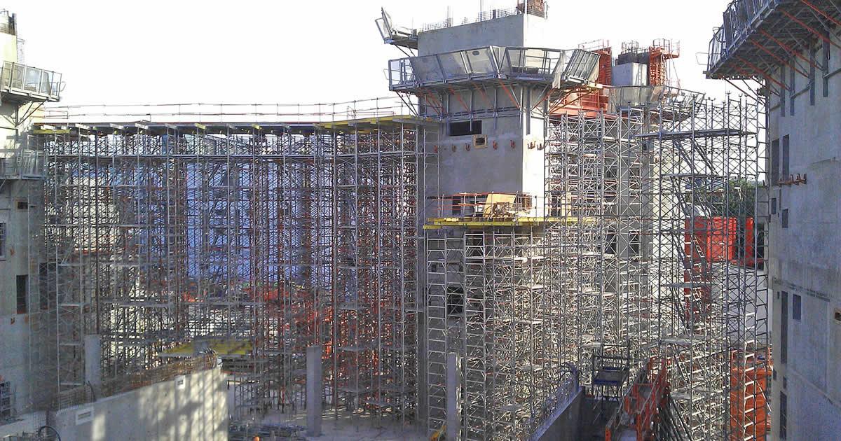 Opere provvisionali nei grandi cantieri e di pregio