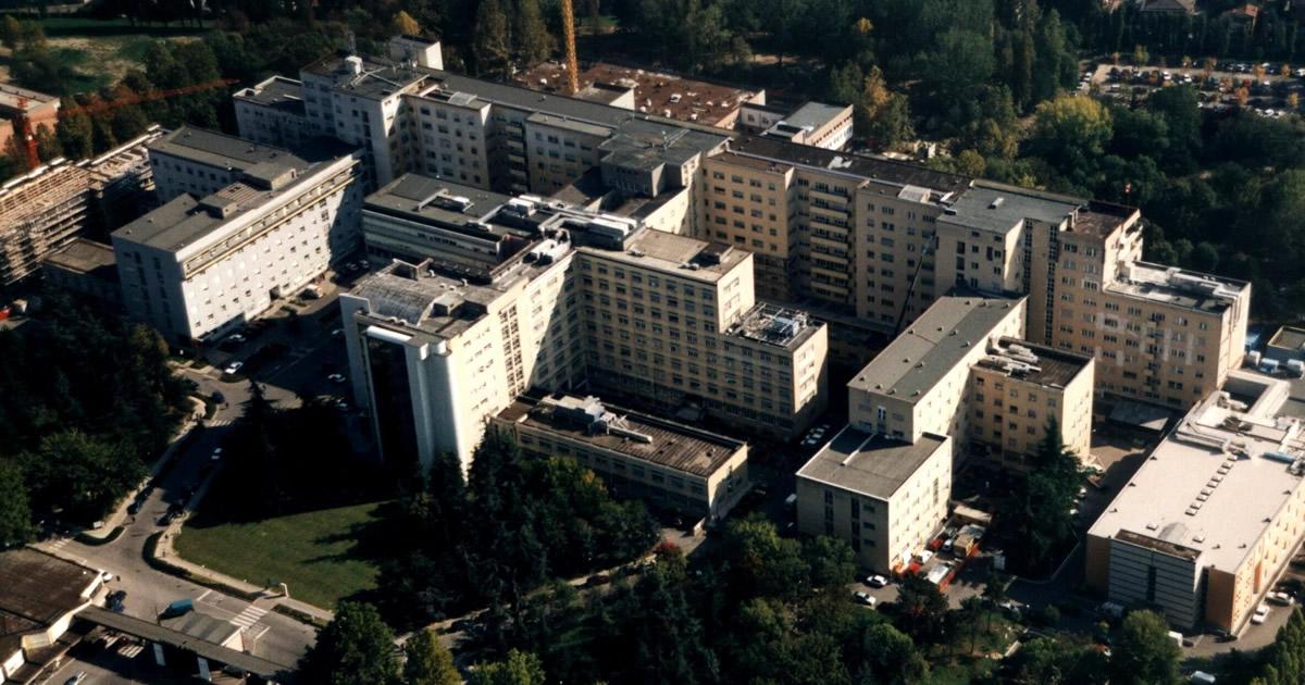 Messa in sicurezza Azienda Ospedaliero Universitaria di Modena danneggiate dal sisma