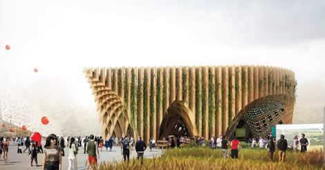 Expo 2015: completato il Padiglione della Francia