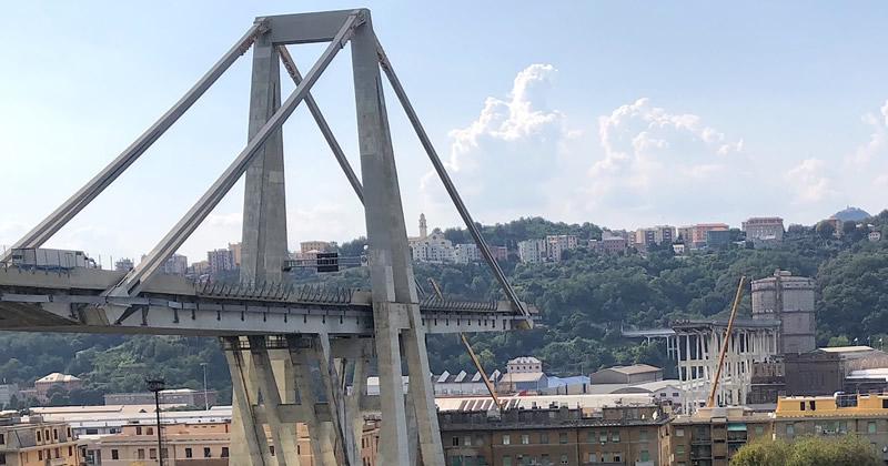 Crollo Ponte Morandi, Inarsind: 'Professionalità e rispetto: la sola risposta'