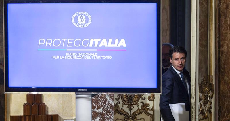 Piano nazionale per la sicurezza del territorio 'ProteggItalia'
