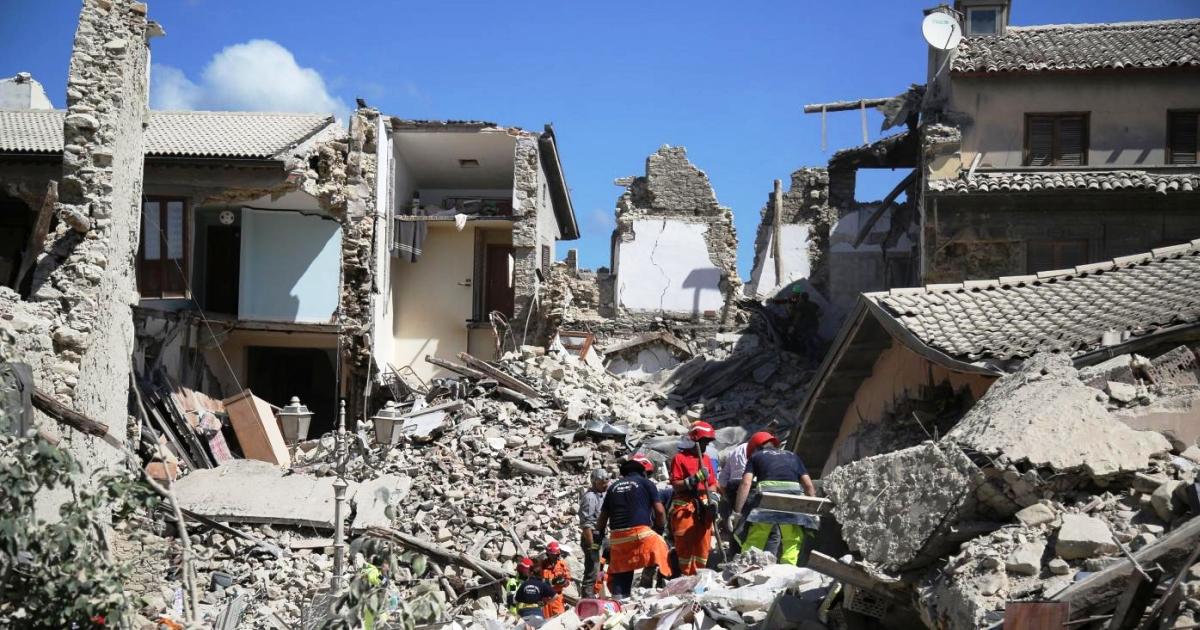 Terremoto e Protezione civile: In vigore la nuova Ordinanza n. 391