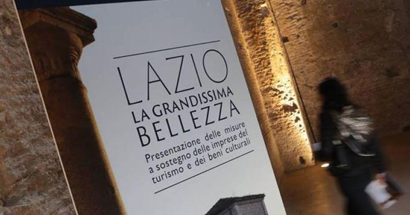 Regione Lazio: 2 bandi per sostenere il turismo e conservare i beni culturali
