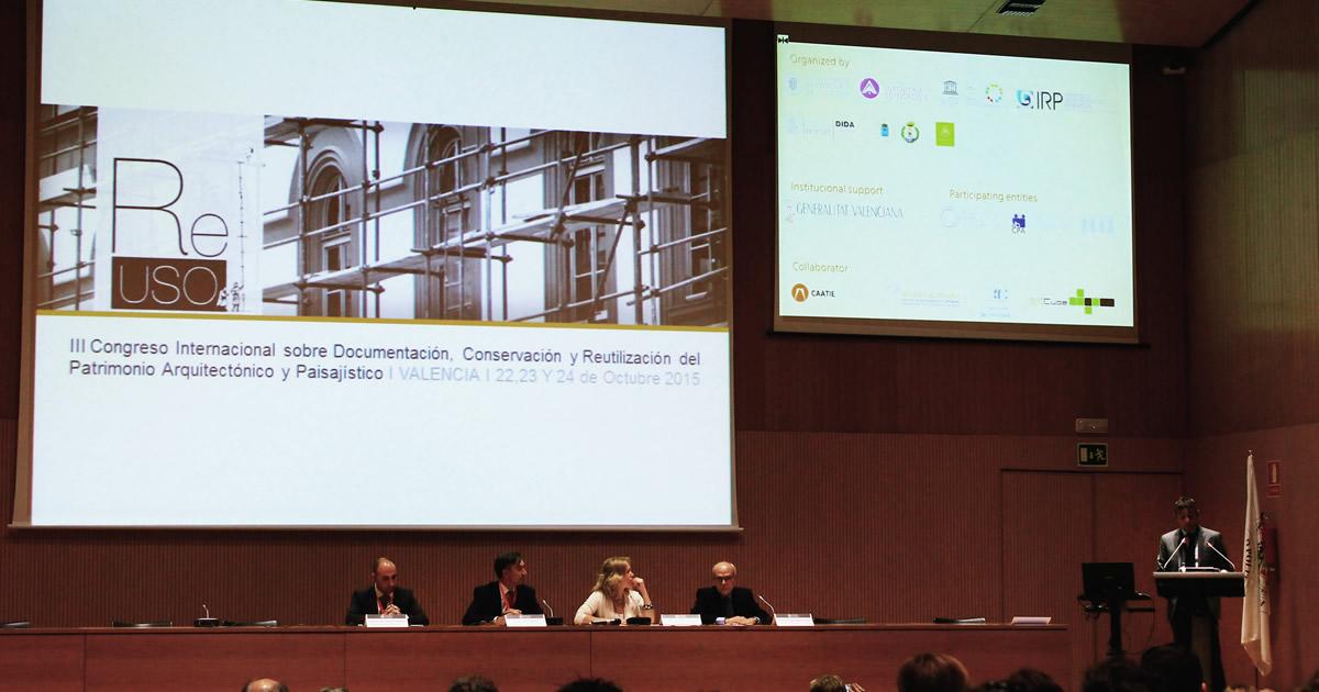 REUSO 2015: Valencia culla di incontri e idee per un'architettura che guarda al futuro
