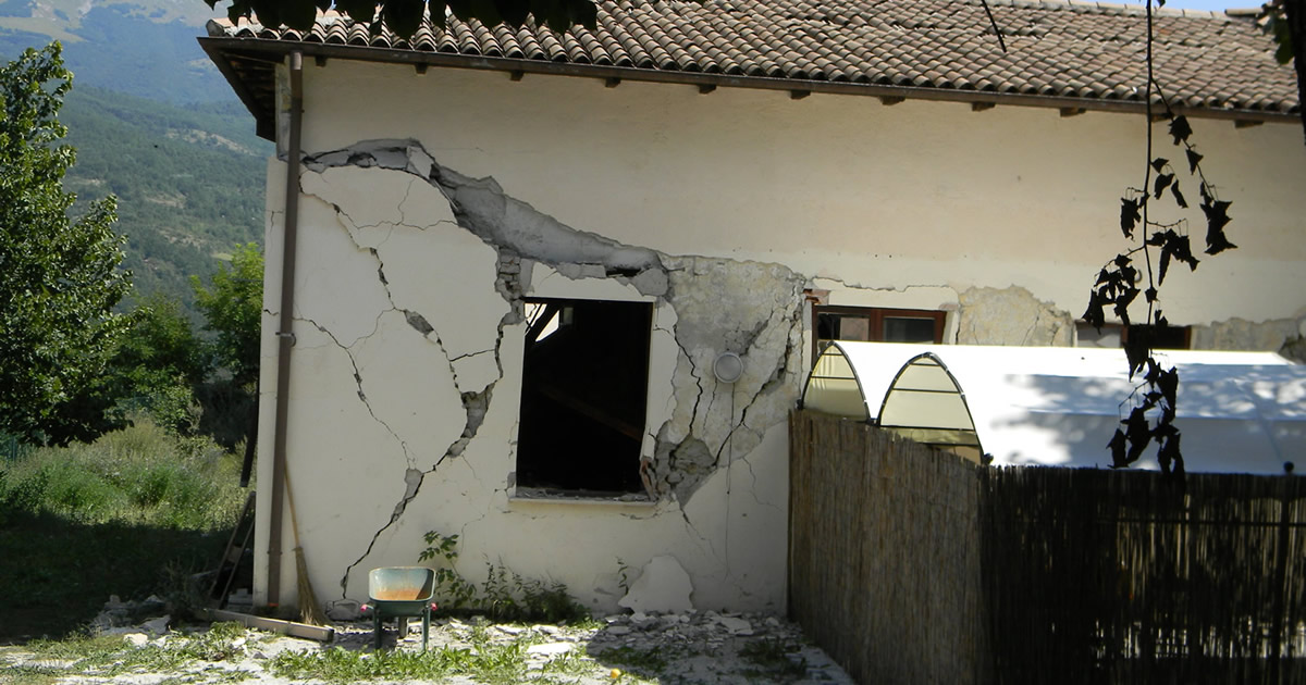 Ridurre il rischio sismico degli edifici: parte l'appello di tecnici e ricercatori