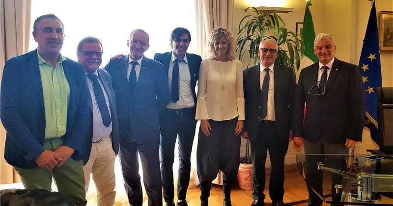 Proposte per il Sud: la Rete Professioni Tecniche incontra il ministro Barbara Lezzi