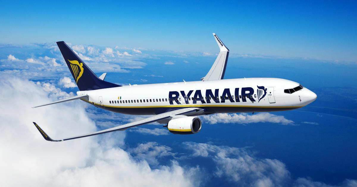 Ryanair rilancia sull'Italia: 44 nuove rotte ed investimenti per un miliardo di euro
