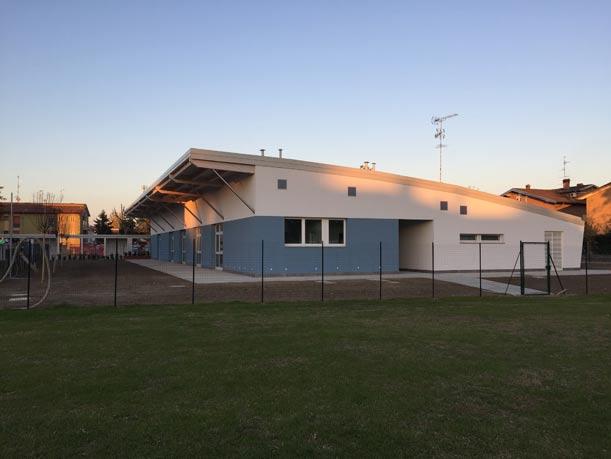 Ricostruzione, torna a Solara di Bomporto (Mo) la scuola elementare distrutta dal sisma