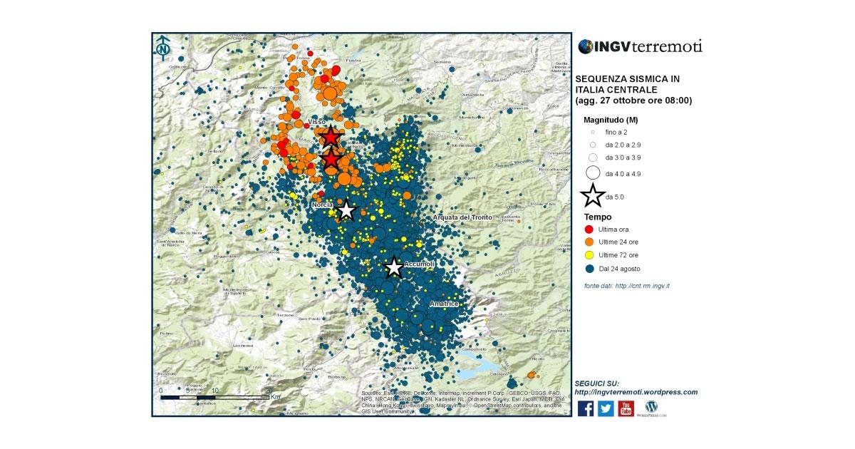 Terremoto centro-Italia e Verifiche di agibilità: tutto da rifare