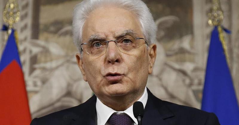 Disastro di Genova: Dichiarazione del Presidente Mattarella