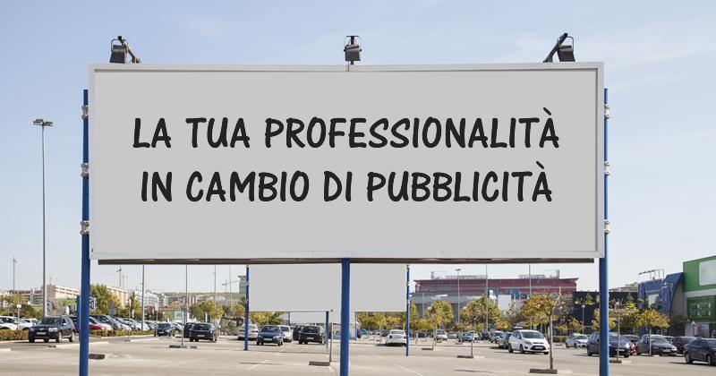 Servizi di Ingegneria e Architettura: il Comune di Molfetta li paga in 'pubblicità'